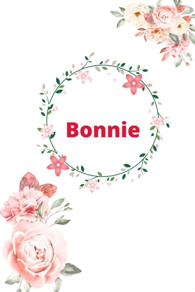 Bonnie prénom écossais fille rare